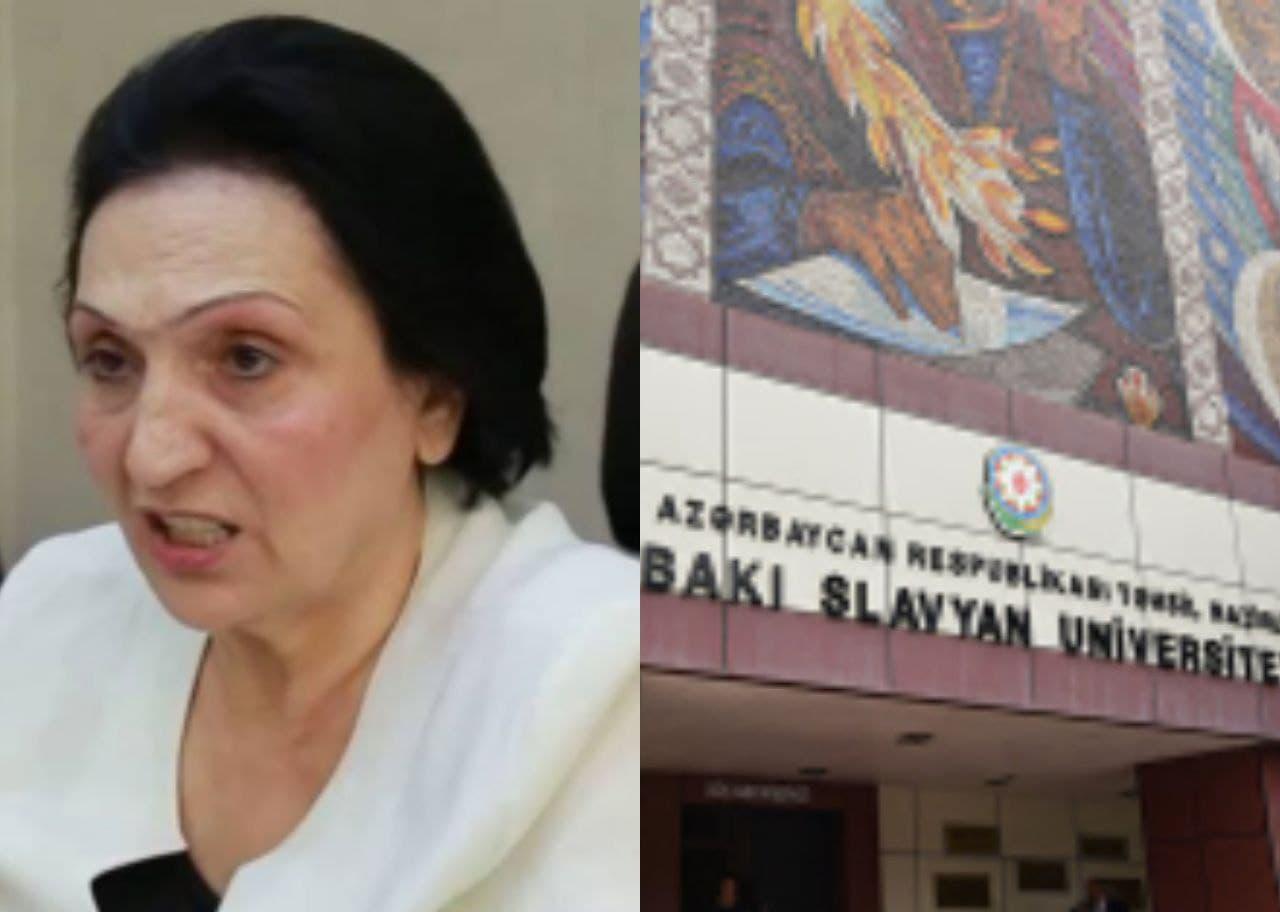 Slavyan Universitetinin rektoru niyə vuruldu?