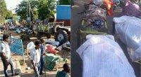 Afrikada 500 sakin doğrandı -VİDEO