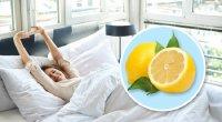 Yatanda baş ucunuza kəsilmiş limon qoyun