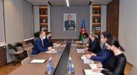 """Ceyhun Bayramov """"TRACECA""""nın Baş katibi ilə görüşdü"""