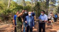 FHN-in əməkdaşları yanğınla mübarizəni davam etdirir - FOTO/VİDEO