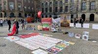 Niderlandda İran əleyhinə etiraz aksiyası keçirildi - FOTO