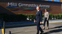 Prezidentlə xanımı Milli Gimnastika Arenasının yeni məşq binasında - YENİLƏNİB - VİDEO