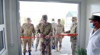 Azad olunmuş rayonlarda yeni hərbi obyektlər istifadəyə verildi - VİDEO