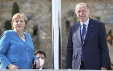 """Merkel Ərdoğanla görüşdən danışdı: """"Bir-birimizə inanırıq və..."""" - FOTO / VİDEO"""