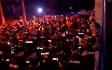 SON DƏQİQƏ: Saakaşviliyə dəstək aksiyasında qarşıdurma - VİDEO