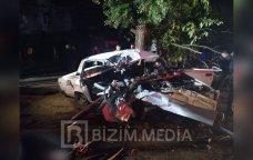 SON DƏQİQƏ: Qubada ağır yol qəzası – 4 nəfər öldü - FOTO