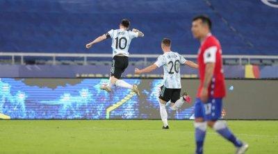 Messi Argentina millisində qol vurdu – VİDEO