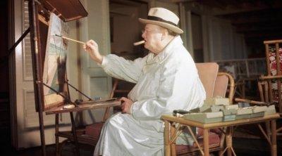Uinston Çörçillin çəkdiyi rəsm 1,8 milyon dollara satıldı - FOTO