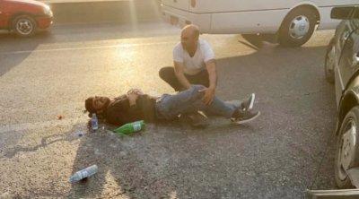 Bakıda yol qəzası: 3 nəfər yaralandı