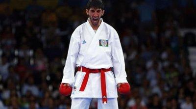 Azərbaycan karateçisi Firdovsi Fərzəliyev Tokioda ilk qələbəsini qazandı