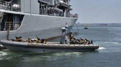 Qara dənizdə Ukrayna, Gürcüstan, Azərbaycan və NATO-nun iştirakı ilə hərbi təlimlər başladı