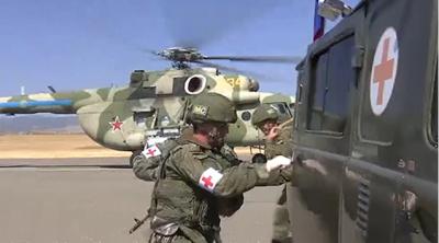 Rus sülhməramlılar üçtərəfli bəyanatı pozdu – VİDEO