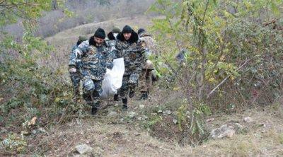Suqovuşanda daha bir erməni hərbçisinin meyiti AŞKARLANDI