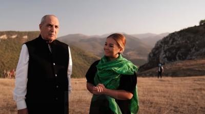 Rasim Balayevdən Cıdır düzündə duyğulu anlar - VİDEO