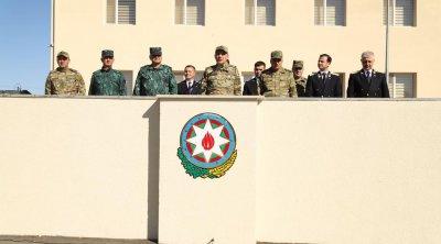 Kəlbəcər və Qubadlıda hərbi prokurorluq binalarının açılışı oldu - FOTO