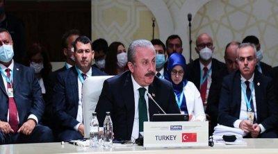 """Mustafa Şentop: """"Biz Türkiyə olaraq hər zaman Azərbaycanın yanındayıq"""