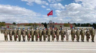 Türkiyədə kursu bitirən hərbçilərimizin buraxılış mərasimi keçirildi - FOTO