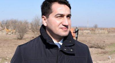 Hikmət Hacıyev Füzuli şəhəri ilə bağlı TVİT yazdı – FOTO