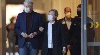 Bill Klinton xəstəxanadan evə buraxıldı