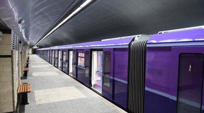 Metroda koronavirus xəstəsi saxlanıldı - FOTO