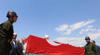 Türk hərbçi şəhid oldu - FOTO