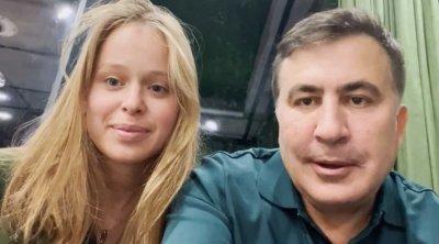 Saakaşvilinin sevgilisindən yeni AÇIQLAMA