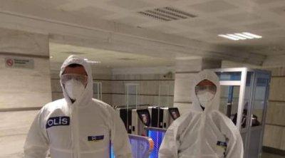 Bakı metrosunda koronavirus xəstəsi tutuldu - FOTO