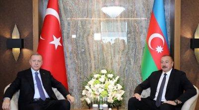 Azərbaycan və Türkiyə prezidentlərinin görüşü oldu