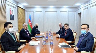 Baş nazir BP-nin vitse-prezidenti ilə görüşdü