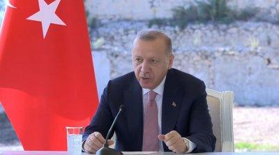 """Ərdoğan: """"Türkiyənin qardaş Azərbaycana dəstəyi davam edəcək"""""""