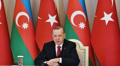 """""""İlham Əliyevlə gələcəyə dair planları nəzərdən keçirdik"""" – Ərdoğan"""