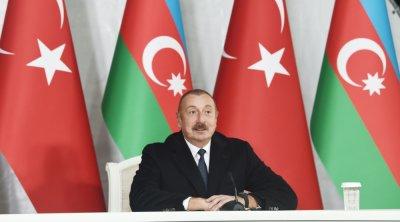 """DÖVLƏT BAŞÇISI: """"Zəngəzur dəhlizi bütün türk dünyasını birləşdirəcək"""""""