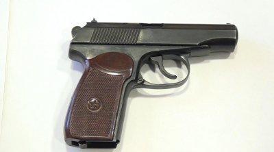 Qazax sakinlərində silah aşkarlandı - FOTO