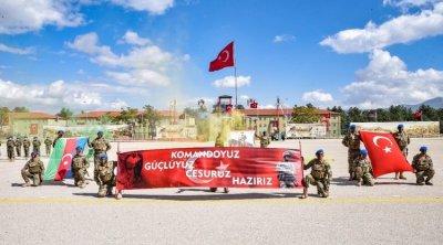 Azərbaycanın 383 xüsusi təyinatlısı Türkiyədə təlimi başa vurdu - FOTO