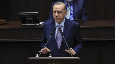 """Ərdoğan: """"Türkiyə Suriya və İraqdan gələn terror təhdidlərinə dözməyəcək"""" - VİDEO"""