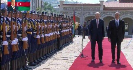 Türkiyə Prezidenti Şuşadan paylaşım etdi - VİDEO