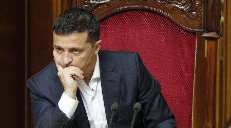 Ukrayna prezidenti xəstəxanaya yerləşdirildi
