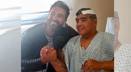 Dieqo Maradona xəstəxananı tərk etdi