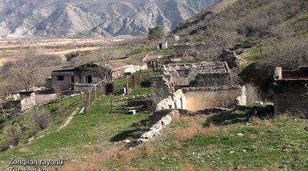 Zəngilanın Turabad kəndindən görüntülər - VİDEO