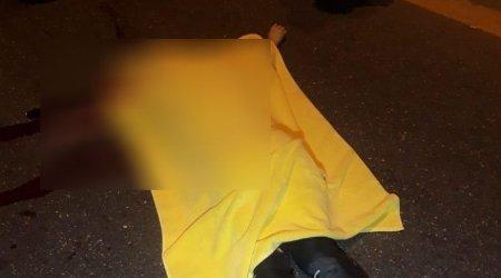 Aeroport yolunda ana və oğulun öldüyü qəzanın görüntüləri əldə edildi - ANBAAN VİDEO