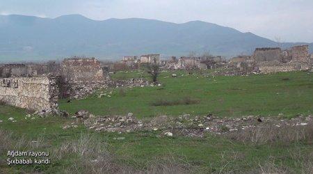 Ağdam rayonunun Şıxbabalı kəndi - VİDEO