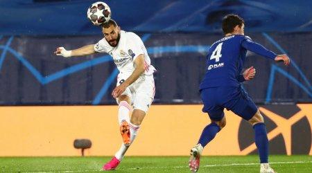 """Çempionlar Liqası: """"Real Madrid"""" öz meydanında 2 xal itirdi"""
