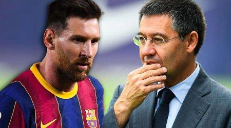 """Messi ilə """"Barselona""""nın keçmiş prezidenti arasında əsl müharibə """"gedib"""" - TƏFƏRRÜAT"""