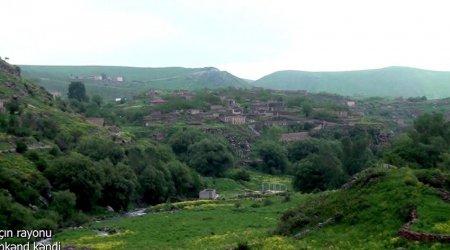 Laçın rayonunun Minkənd kəndindən videogörüntülər