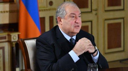 Armen Sarkisyan deputatlara erməni diasporu haqqında SƏSLƏNDİ