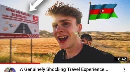 "Amerikalı videobloger: ""Çox şükür ki, Ağdam bərpa edilir"" - VİDEO"