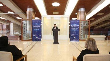 II Azərbaycan Beynəlxalq Vokalçılar Festivalı konfransla başladı - FOTO