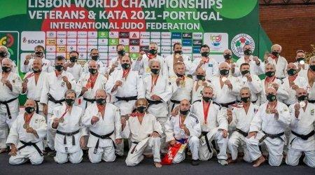 Azərbaycanın veteran cüdoçuları Lissabonda daha 4 medal qazandı