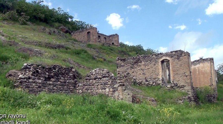 Laçının Əhmədli kəndindən VİDEOGÖRÜNTÜLƏR